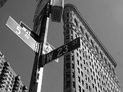 5th Ave Photos - Flat Iron 5th ave by Mike Lindwasser Photography