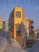Ghost Originals - Flat Iron district Jerome AZ 20 x 16 by Cody DeLong