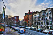 Stoops Prints - Flatbush Ave in Brooklyn Print by Randy Aveille