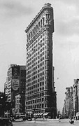 True Melting Pot Prints - Flatiron Building BW50 Print by Scott Kelley