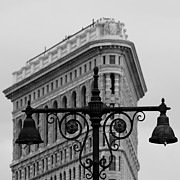 Flatiron Framed Prints - Flatiron Building New York Framed Print by Andrew Fare