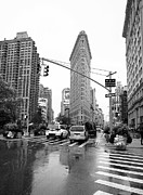 Flatiron Building Posters - Flatiron Country Poster by David Bearden