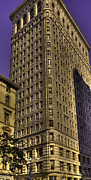 Styling Posters - Flatiron on Broadway Poster by David Bearden