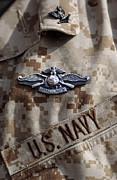 Fleet Marine Force Warfare Device Pin Print by Stocktrek Images