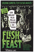 Horror Movies Posters - Flesh Feast, 1970 Poster by Everett