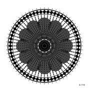 Metaphysics Posters - Fleuron Composition No. 256 Poster by Alan Bennington