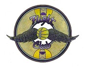 Purps Drawings Posters - Flight Club Poster by Steve Weber