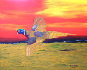 Pheasant Originals - Flight by Mark Fluharty