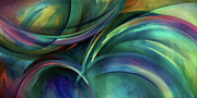 Arcs Posters - Flight Poster by Michael Lang