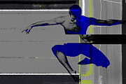 Athletics Digital Art Metal Prints - Flight Metal Print by Irina  March
