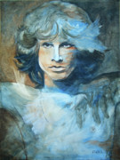 Jim Morrison Prints - Flight of the Eagle Jim Morrison Print by Kathryn Donatelli