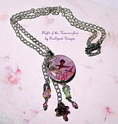 Crystals Jewelry - Flight of the Hummingbird by Patricia Griffin Brett