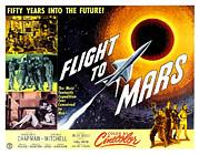 Flight To Mars, 1951 Print by Everett