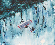 Victoria Painting Originals - Flight Victoria by Melanie Meyer