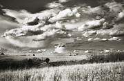 Beautiful Sky Prints - Flint Hills Prairie Print by Thomas Bomstad