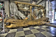 Old School House Digital Art - Flintstone Mobile by Nicholas  Grunas