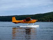 Finger Prints - Float Plane Two Print by Joshua House