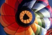 Hot Air Balloon Framed Prints - Floating By Framed Print by Gerard Fritz