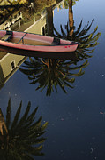 Canals Framed Prints - Floating on Palms Framed Print by Kevin Bergen