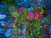 Print On Demand Paintings - Floating on Water by Tara Leigh Rose