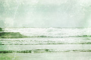 Green Sea Print Prints - Floating Summer Print by Andrea Hazel Ihlefeld