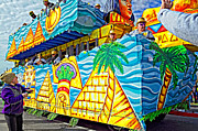 Metairie Photos - Floating Thru Mardi Gras 2 by Steve Harrington