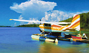 Floats Art - Floatplane by Dale Jackson