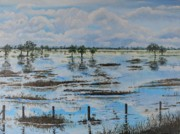 Flood Originals - Flood Eddies by Leonie Bell