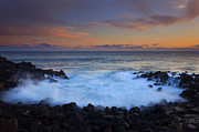 Tidal Pool Framed Prints - Flooding the Gaps Framed Print by Mike  Dawson