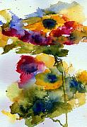 Plants Painting Prints - Floral Fancy Print by Anne Duke