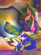 Intimacy Digital Art Posters - Floral Intimacy Poster by George  Page