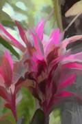 Floral Pastel Print by Tom Prendergast