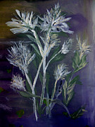 Reverie Paintings - Floral Reverie by Sandy McIntire