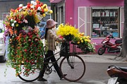 Asia Photos - Floral ride by Marion Galt