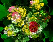 Flowers - Floral Still Life by David Lane