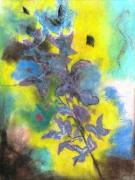 Floral Pastels Originals - Floral by Thomas Armstrong