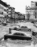 Flood Prints - Florence: Flood, 1966 Print by Granger
