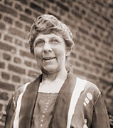 First Ladies Posters - Florence Harding 1860-1924, Who Married Poster by Everett