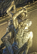 Gregory Dyer Posters - Florence Italy - Hercules Beating the Centaur Nessus Poster by Gregory Dyer