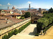 Florence Italy - Pitti Palace - 02 Print by Gregory Dyer