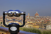 Binoculars Photos - Florence by Joana Kruse