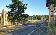 Florence Oregon - Art Deco Bridge - 02 Print by Gregory Dyer