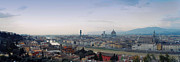 Panorama Digital Art Originals - Florence panorama  by Shevi