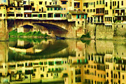 Dawn Nicoli Metal Prints - Florence reflection Metal Print by Dawn Nicoli