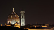 Chris Hill - Florence Skyline at Night