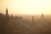 Cross Photos - Florentine Sunset by Steven Gray