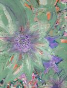 Flores De Amor Print by Anne-Elizabeth Whiteway