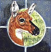 Florida Wildlife Ceramics - Florida Key Deer by Dy Witt