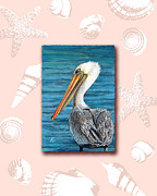 Peggy Dreher - Florida Pelican with...