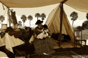 Pioneers Digital Art - Florida Pioneers 1800s by David Lee Thompson